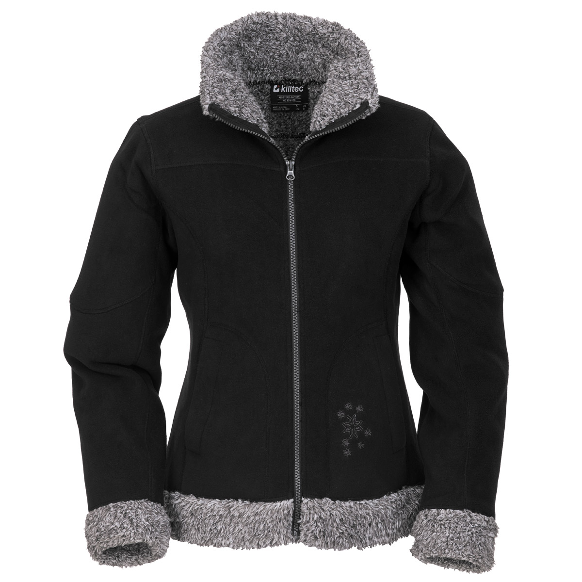 killtec naila women 2013 14 damen teddy fleece jacke