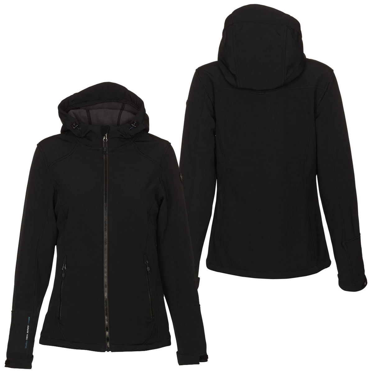 killtec lerika damen softshelljacke mit kapuze sport jacke. Black Bedroom Furniture Sets. Home Design Ideas