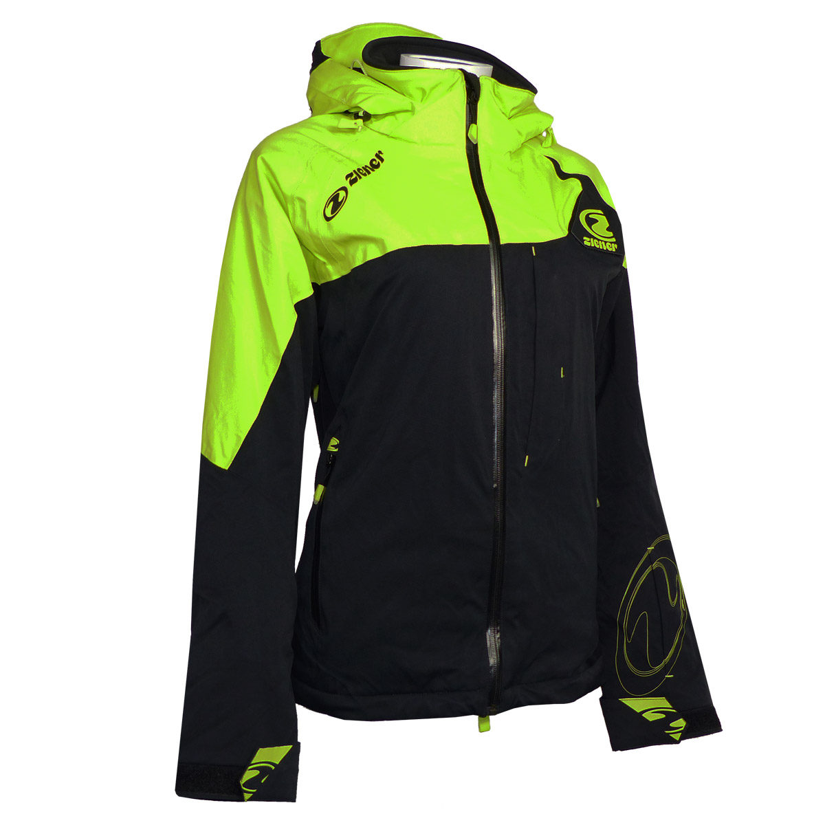 ziener traction lady damen team skijacke snowboardjacke 20k aquashield 114921 ebay